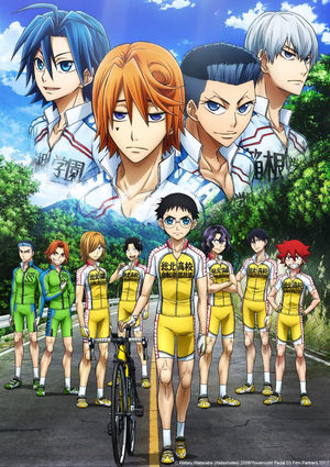 En selle, Sakamichi – Saison 3 Série TV animée
