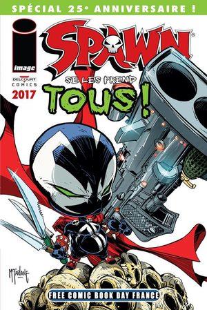 Free Comic Book Day France 2017 - Spawn Se Les Prend Tous !