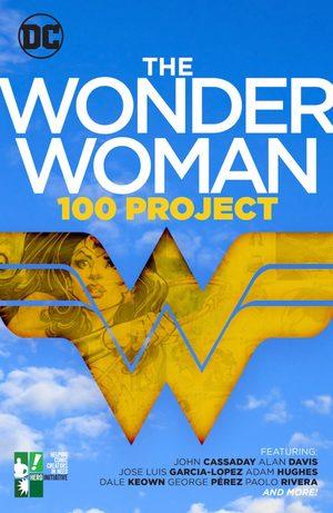 The Wonder Woman 100 Project Ouvrage sur le comics