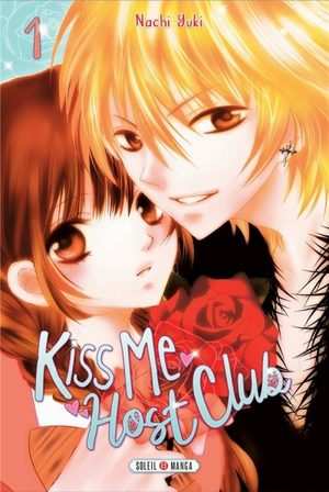 Kiss me host club Manga