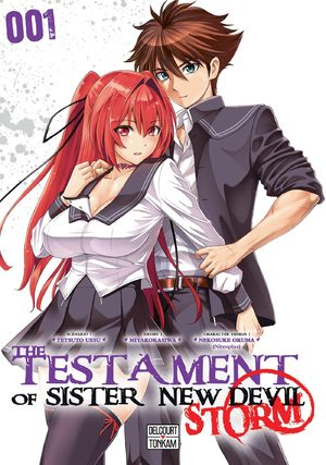 The testament of sister new Devil - Storm! Manga