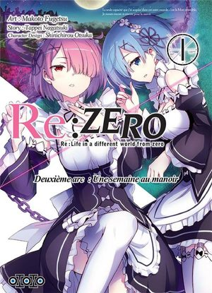 Re:Zero - Re:Life in a different world from zero - Deuxième arc : Une semaine au manoir Manga
