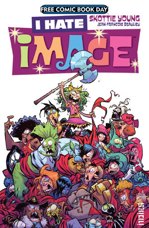 Free Comic Book Day France 2017 - I Hate Image
