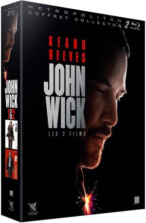 Coffret John Wick 1 & 2 Produit spécial