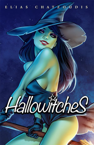 Elias Chatzoudis - Hallowitches sketchbook Artbook
