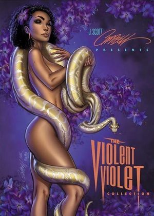 J. Scott Campbell's Artbook - The Violent Violet