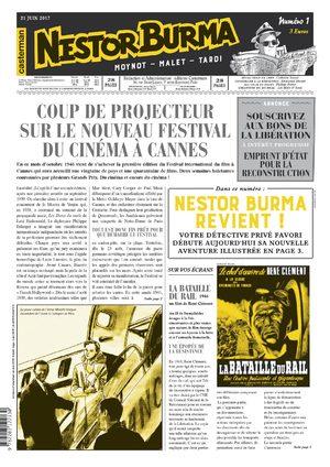 Nestor Burma : L'homme au sang bleu
