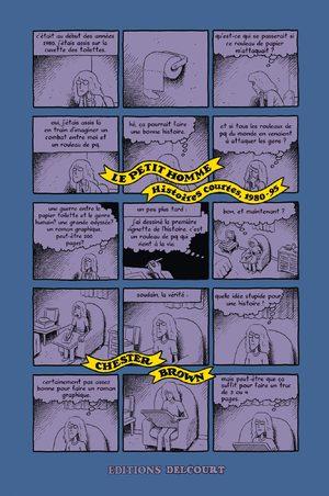 Le petit homme - Histoires courtes, 1980-95