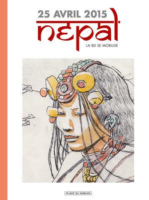 Népal, la BD se mobilise
