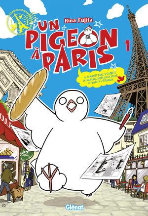 Un pigeon à Paris Manga