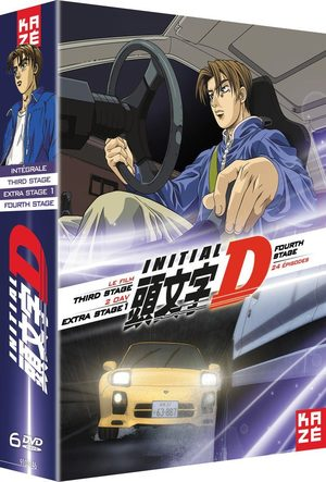 Initial D - Extra stage 1 + Third Stage   Fourth Stage