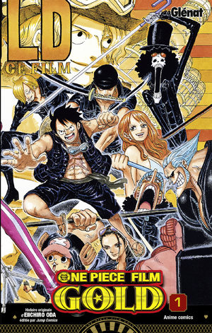 One Piece - Gold Anime comics