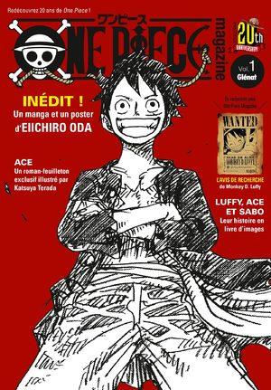 couverture, jaquette One piece magazine 1  (Glénat Manga)
