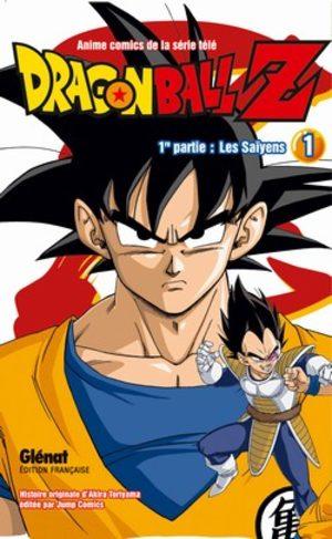 Dragon Ball Z - 1ère partie : Les Saïyens Anime comics