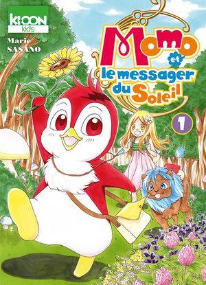 Momo et le messager du Soleil Manga