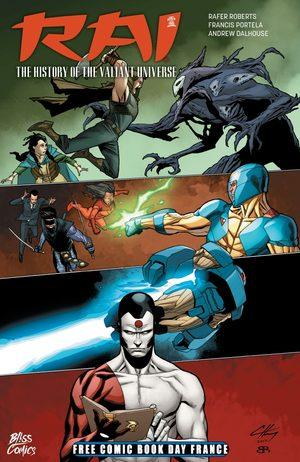 Free Comic Book Day France 2018 - Rai - L'Histoire de l'Univers Valiant / X-O Manowar