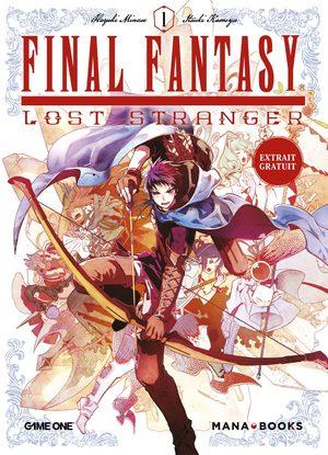 couverture, jaquette Final Fantasy - Lost Stranger 4  (Mana Books)