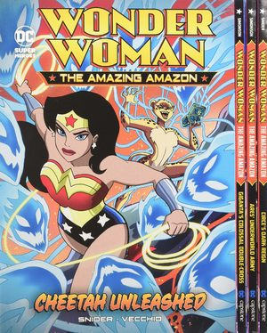 Wonder Woman the Amazing Amazon