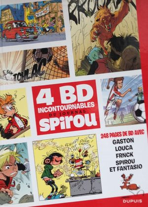 4 BD du journal de Spirou