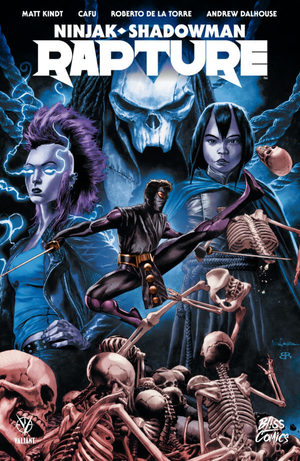 Ninjak / Shadowman - Rapture