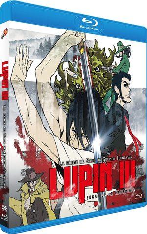 couverture, jaquette Lupin III - la Brume de sang de Goemon Ishikawa