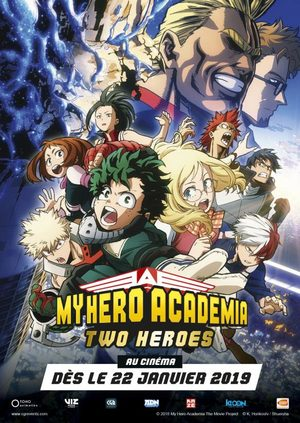 My Hero Academia – Two Heroes Film