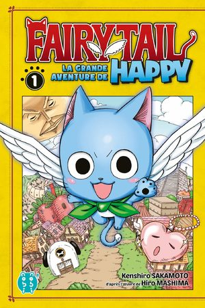 Fairy tail - La grande aventure de Happy Manga