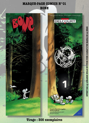 Marque-pages Luxe Comics Bulle en Stock