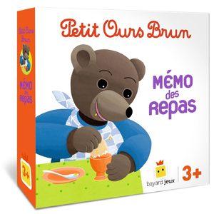 Petit Ours Brun : Mémo des repas