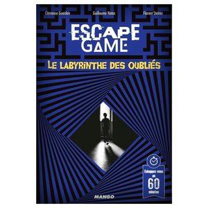 Escape 5 : Le Labyrinthe des oubliés
