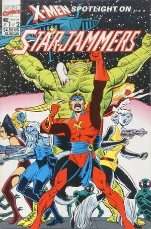 X-Men Spotlight On... Starjammers