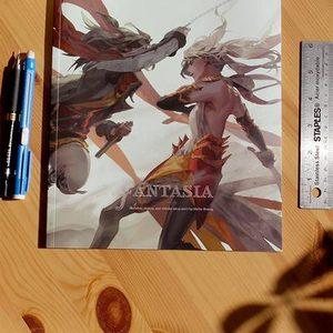 Fantasia: Sketch book by Shilin Global manga