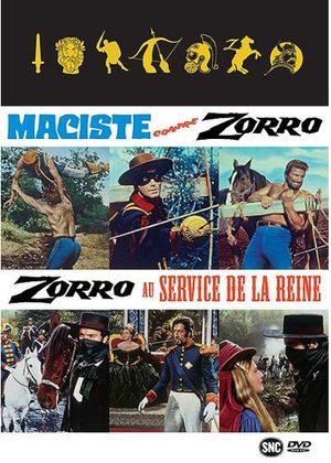 Coffret Maciste contre Zorro + Zorro au service de la Reine