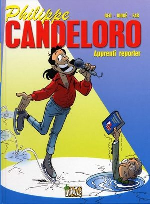 Philippe Candeloro apprenti reporter