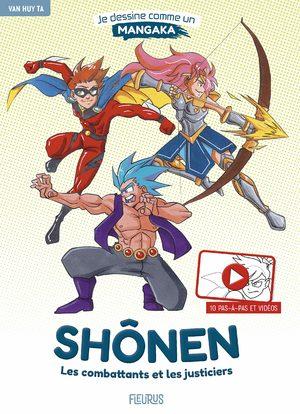 Shonen : les combattants et les justiciers Ouvrage sur le manga