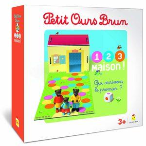 Petit Ours Brun : 1, 2, 3, Maison !