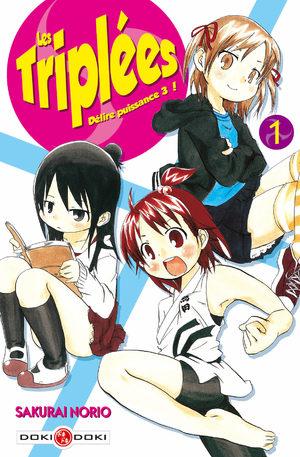 Les Triplées Manga