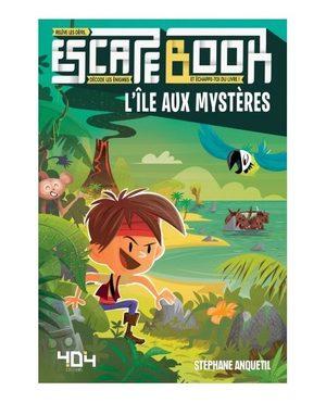 Escape Book : L'île aux mystères