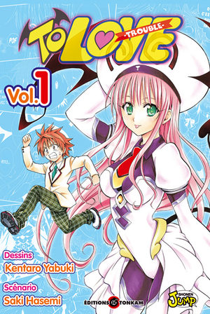 To Love Trouble Manga