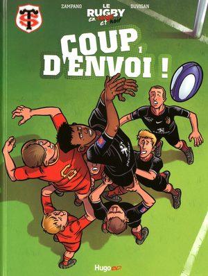 Le rugby en rouge et noir