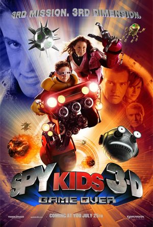 Mission 3D Spy Kid 3 Film