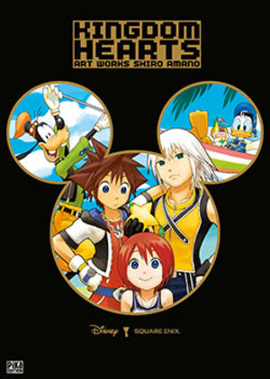 Kingdom Hearts - Shiro Amano Art Works Roman