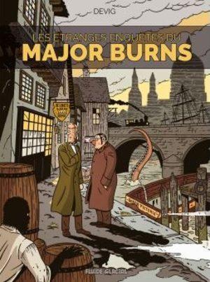 Les étranges enquêtes du Major Burns BD