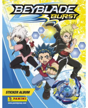 Beyblade burst sticker album