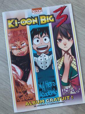 ki-oon big 3