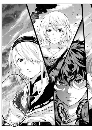 Tokoshie × Bullet Shinminato Kobosen-hen Manga