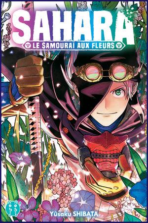 Sahara, Le Samourai aux Fleurs Manga