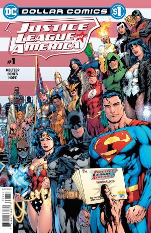 Dollar Comics: Justice League Of America