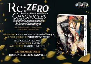 Re:Zero Chronicles : La ballade amoureuse de la Lame démoniaque