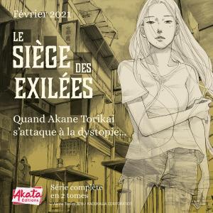 Le siège des exilées Manga